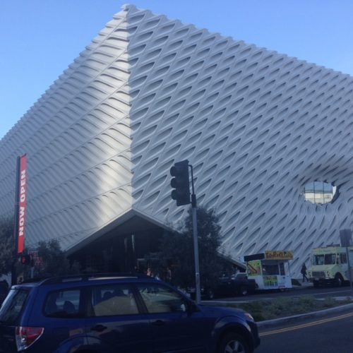 The brand new Broad Museum