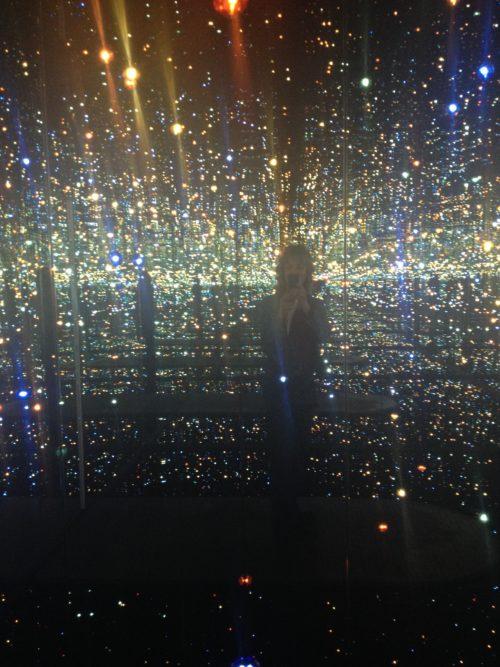 Yayoi Kusama's Dazzling Cosmic Light Exhibition