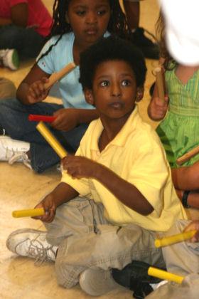 Kids enjoy outreach program